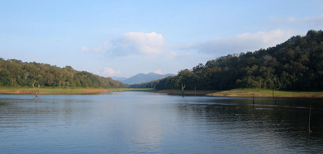 The Periyar Lake