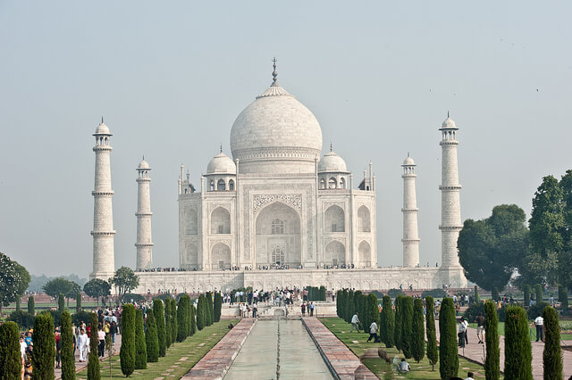 The incredible Taj Mahal