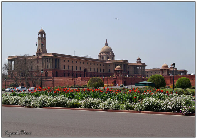 President House in New Delhi