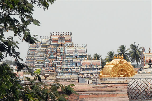 Various shrines of the temple