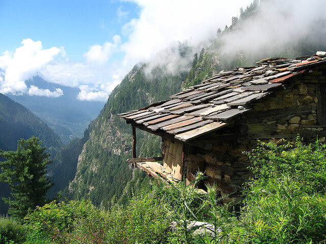 A perch in Malana