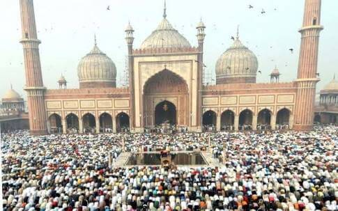 Jama Masjid on Eid-Ul-Fitr