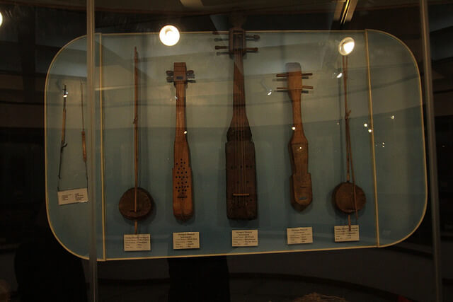Some tools in the museum