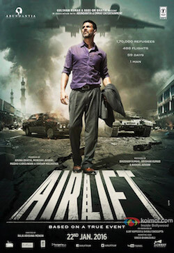Airlift movie poster bollywood