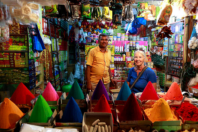 Always bargain when shopping in India. Photo by Ramnath Bhat.
