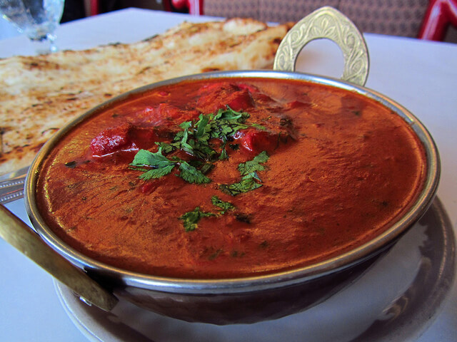 Butter Chicken, unfortunately, the pinnacle of Indian food in the West. Photo by Calgary Reviews.