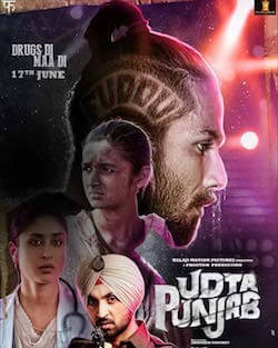 Udta Punjab movie poster bollywood