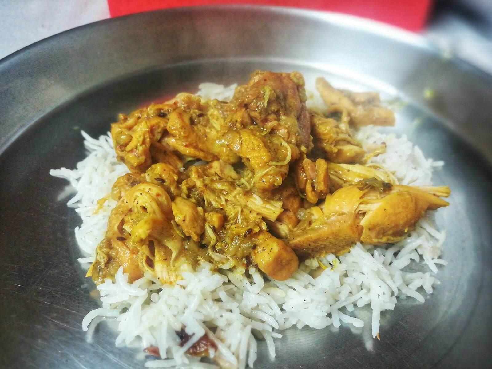 Sali Chicken Britannia and Co Recipe. Photo © Karl Rock.