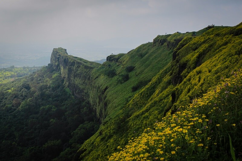 Lohagad Trek. Lohagad Fort Stairs. Lohagad Scene. Photo by: vkpriyesh